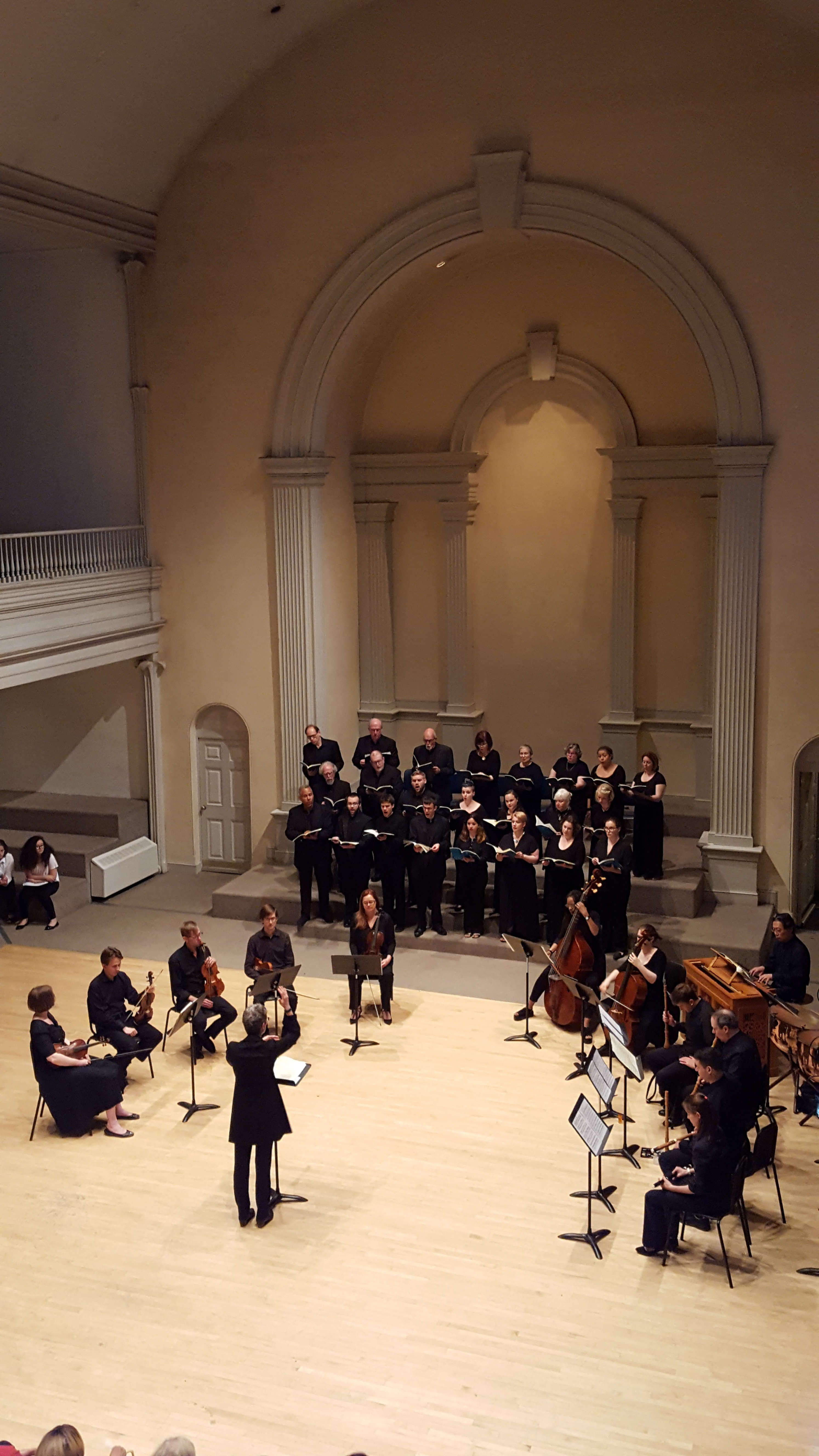 Bach Magnificat in D at St. Mark's in-the-Bowery 2017